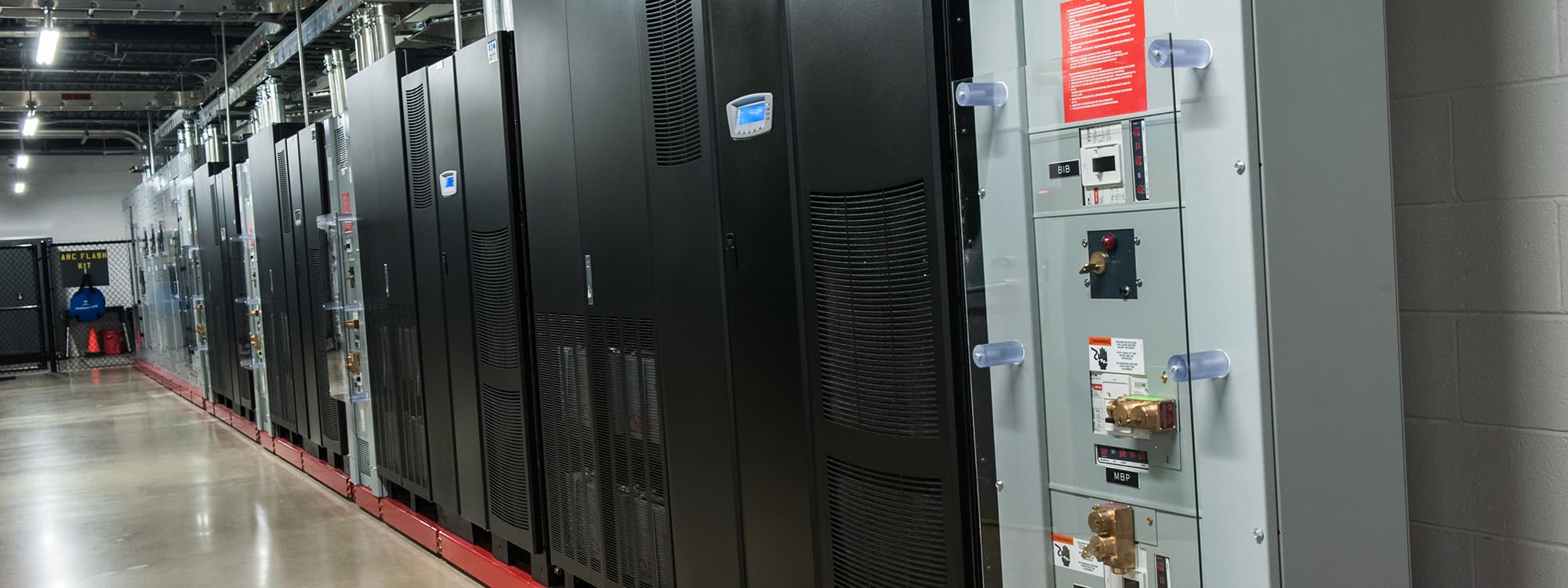 Chattanooga Data Center server cabinets